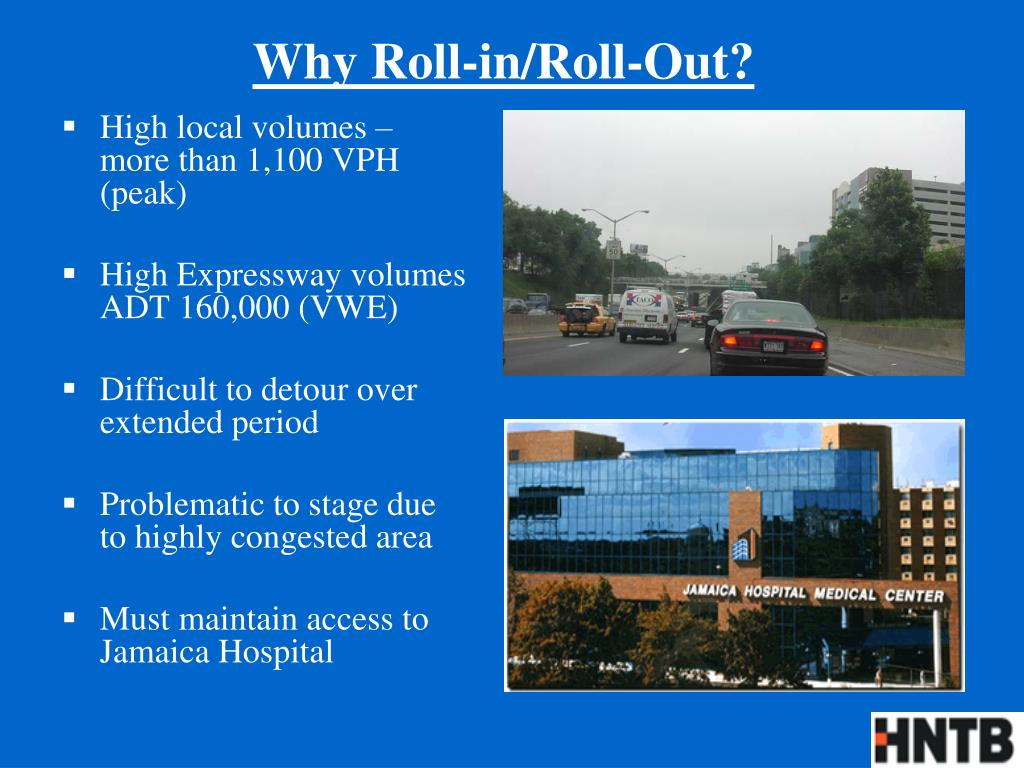 Why Roll-in/Roll-Out?