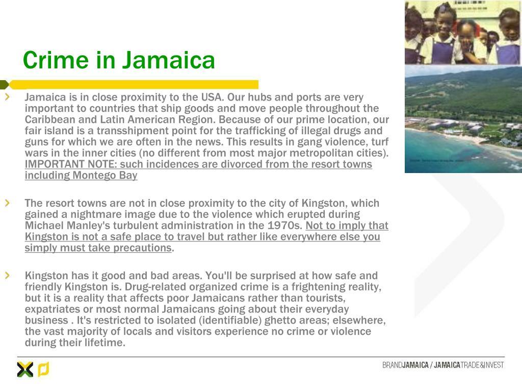 Crime in Jamaica
