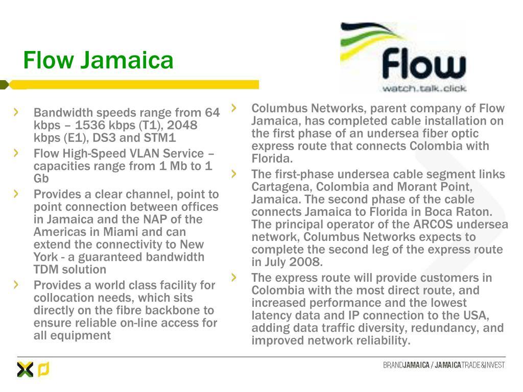 Flow Jamaica