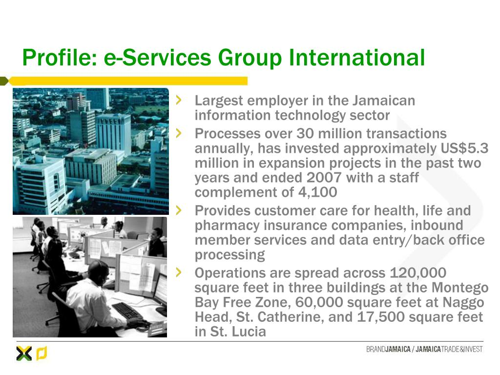 Profile: e-Services Group International