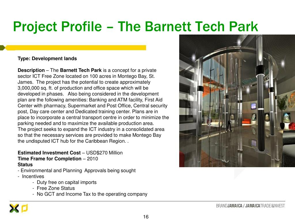 Project Profile – The Barnett Tech Park