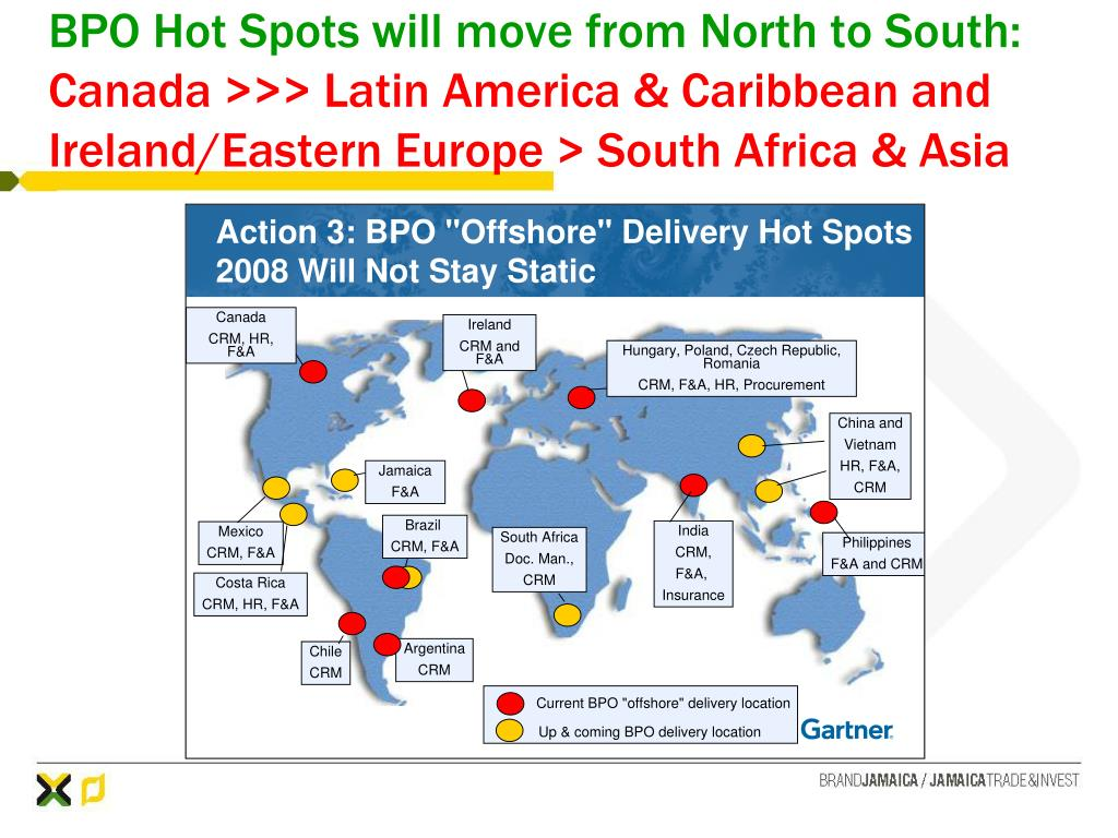 BPO Hot Spots will move from North to South: