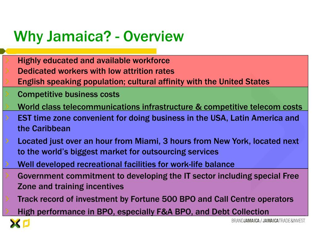 Why Jamaica? - Overview