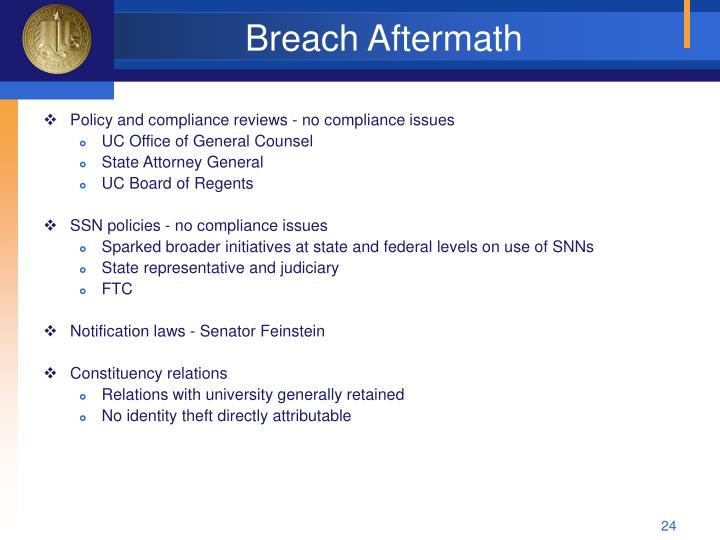 Breach Aftermath