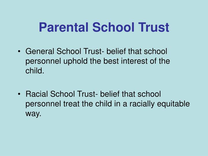 Parental School Trust