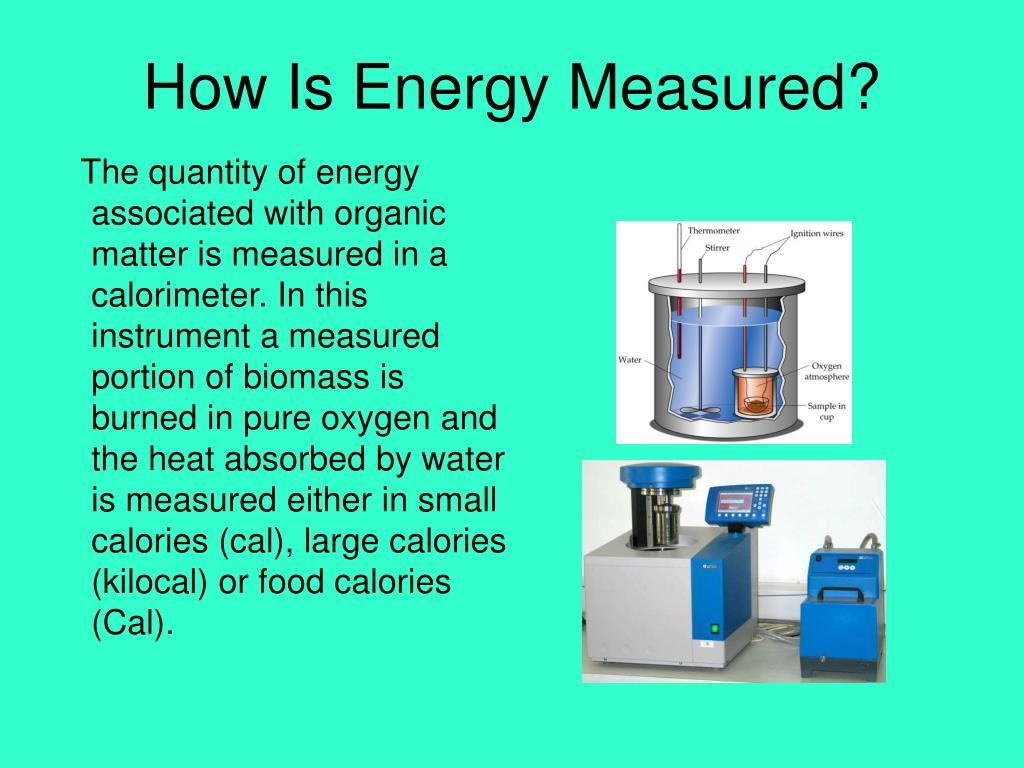 How Is Energy Measured?