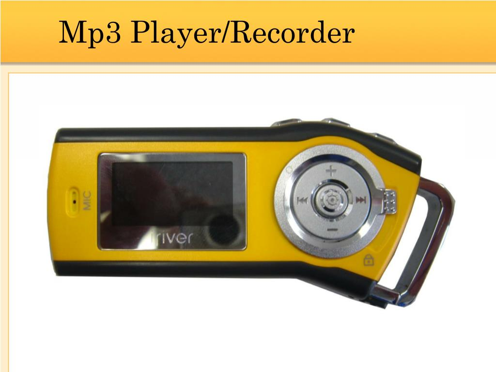 Mp3 Player/Recorder