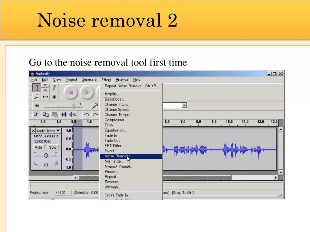 Noise removal 2