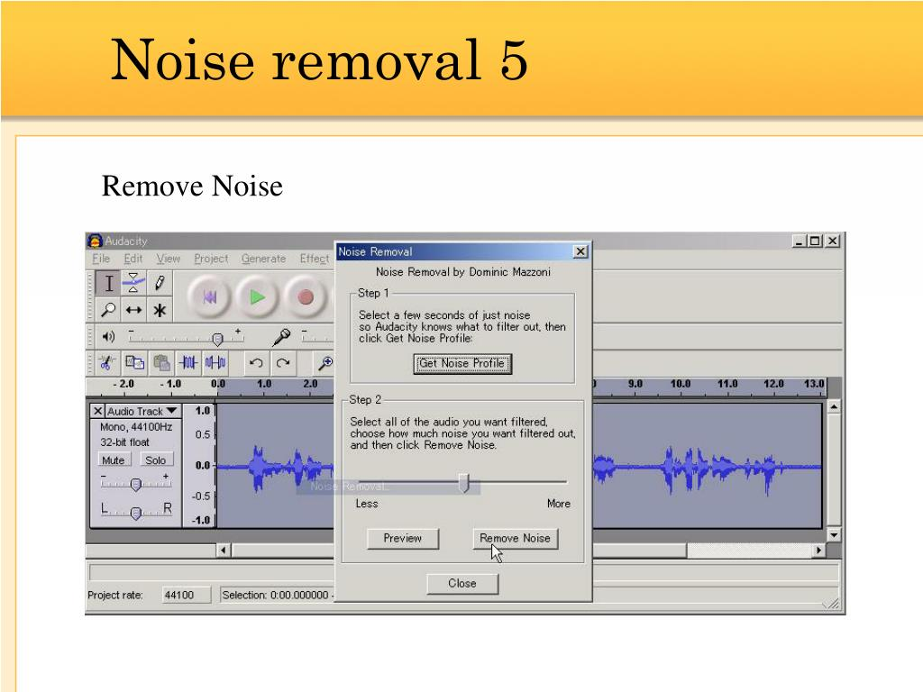 Noise removal 5