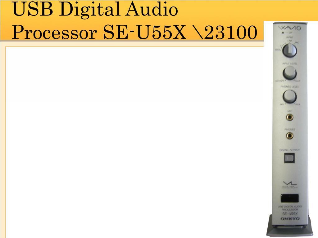 USB Digital Audio