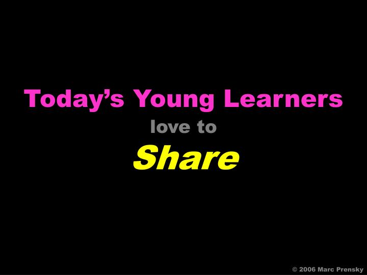 Today's Young Learners