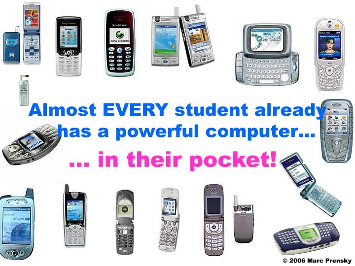 … in their pocket!