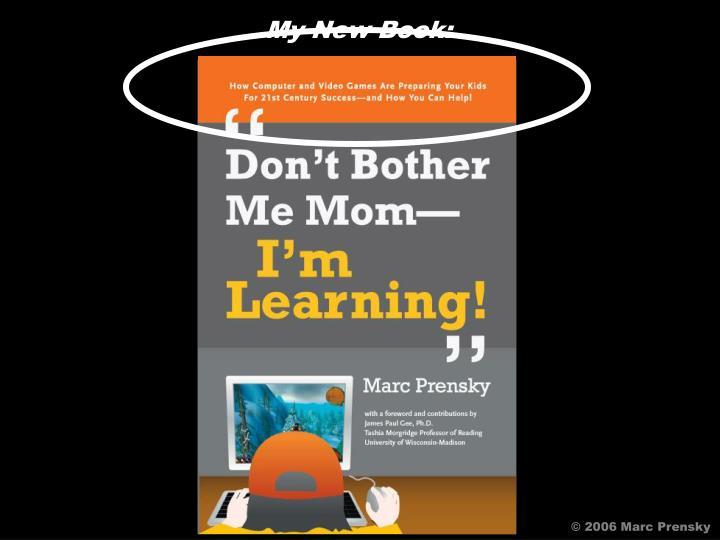 My New Book: