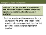 altering the outcome of competition
