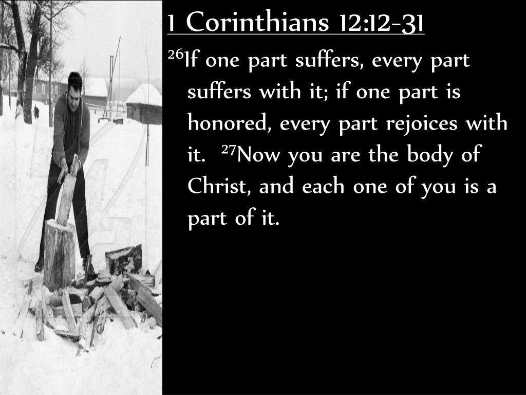 1 Corinthians 12:12-31
