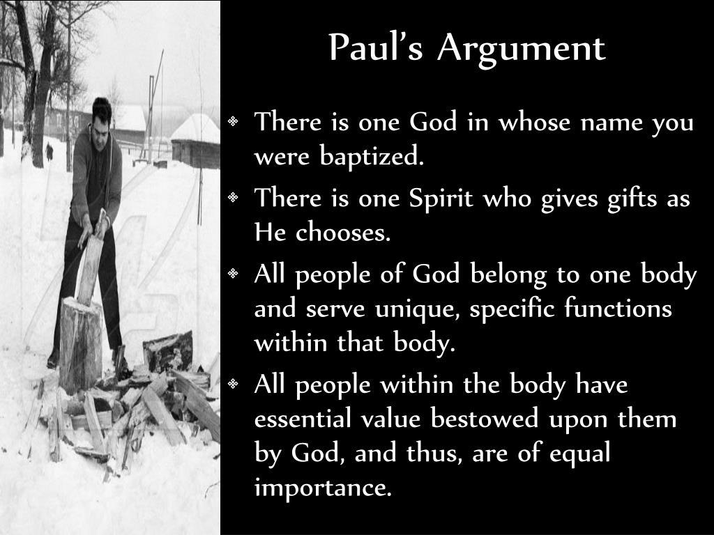 Paul's Argument