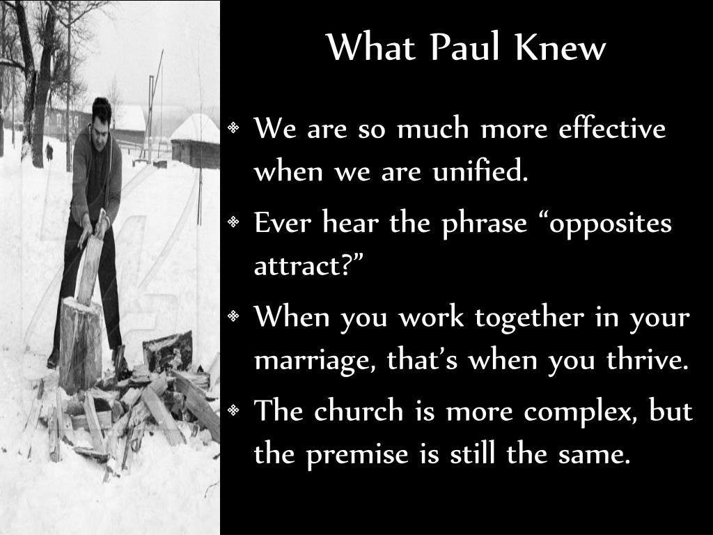 What Paul Knew