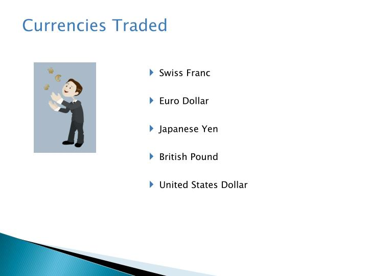 Currencies Traded