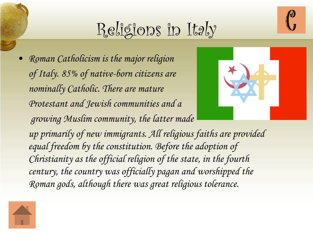 Religions in Italy