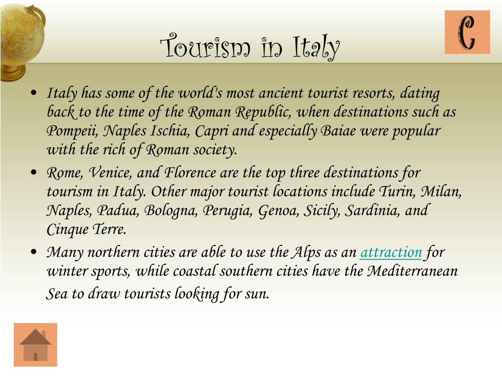 Tourism in Italy