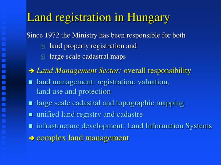 Land registration in Hungary
