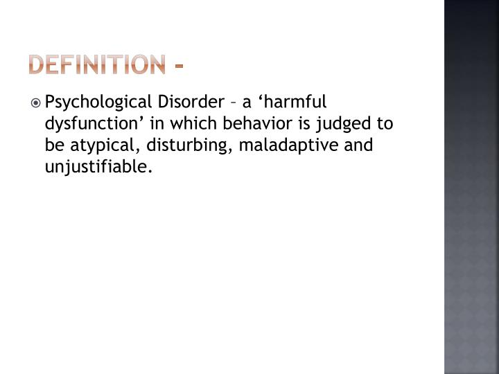 Definition -