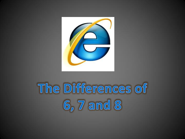 The Differences of
