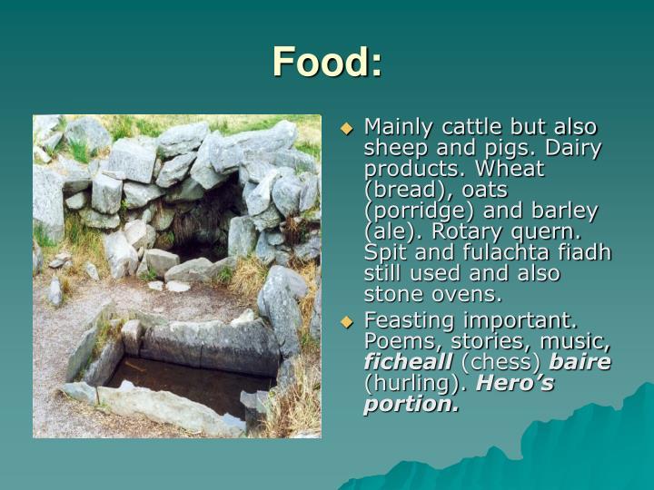 Food: