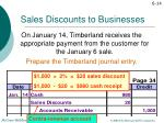 sales discounts to businesses5