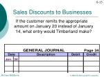 sales discounts to businesses6