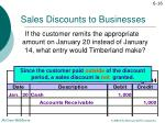 sales discounts to businesses7