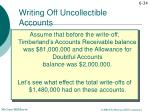 writing off uncollectible accounts3