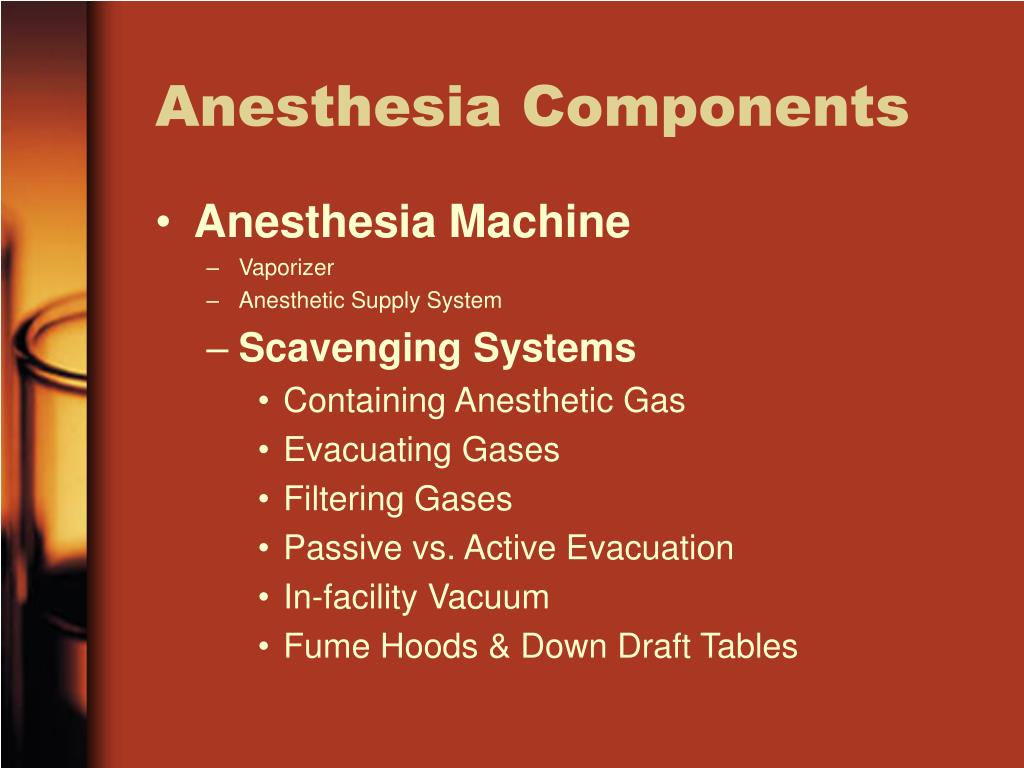 Anesthesia Components