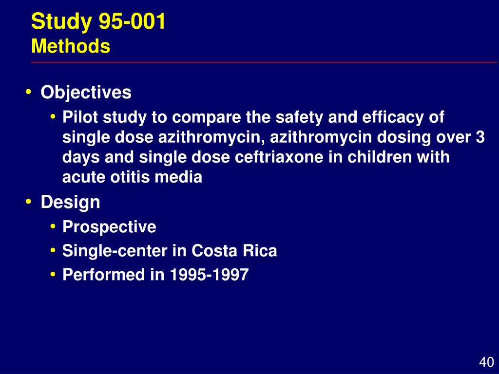Study 95-001