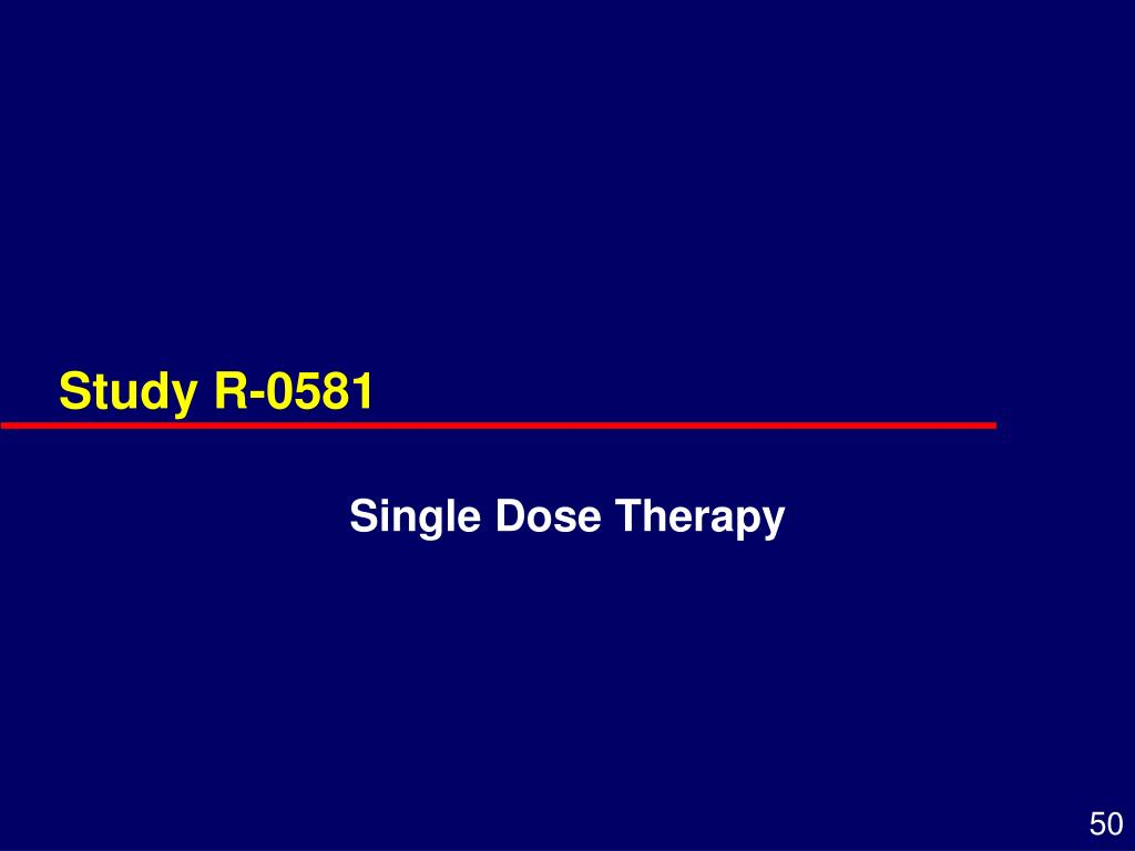 Study R-0581
