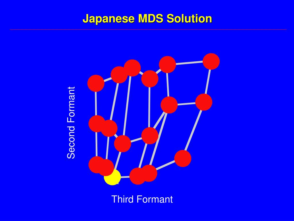 Japanese MDS Solution