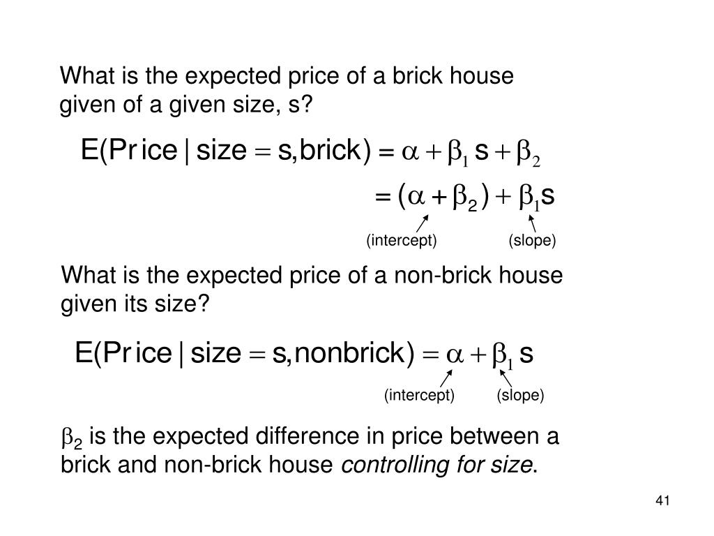 What is the expected price of a brick house