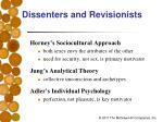 dissenters and revisionists1