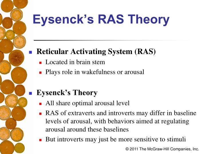 Eysenck's RAS Theory