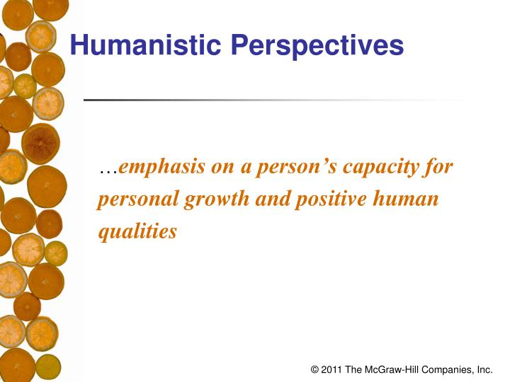 Humanistic Perspectives