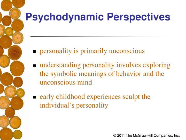 Psychodynamic Perspectives