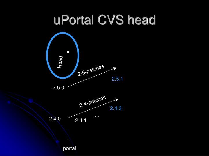 uPortal CVS head
