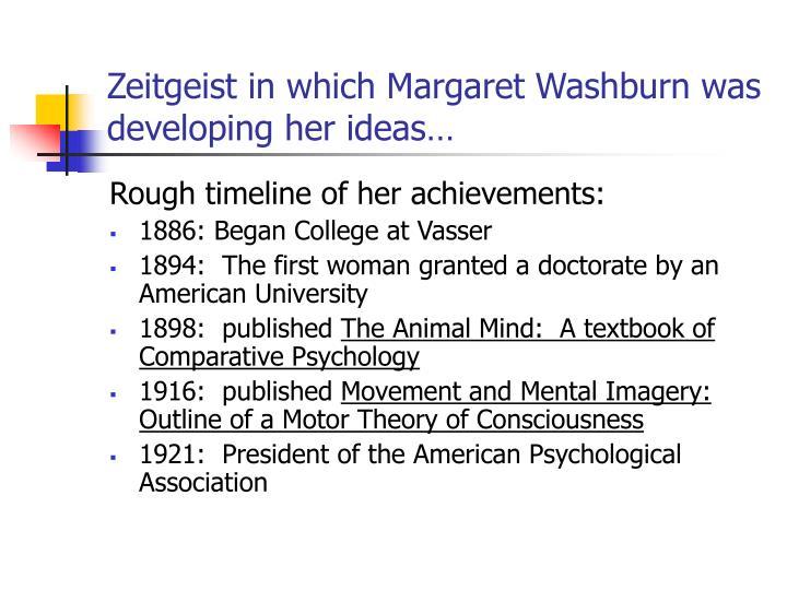 Ppt Margaret Floy Washburn Women In Psychology