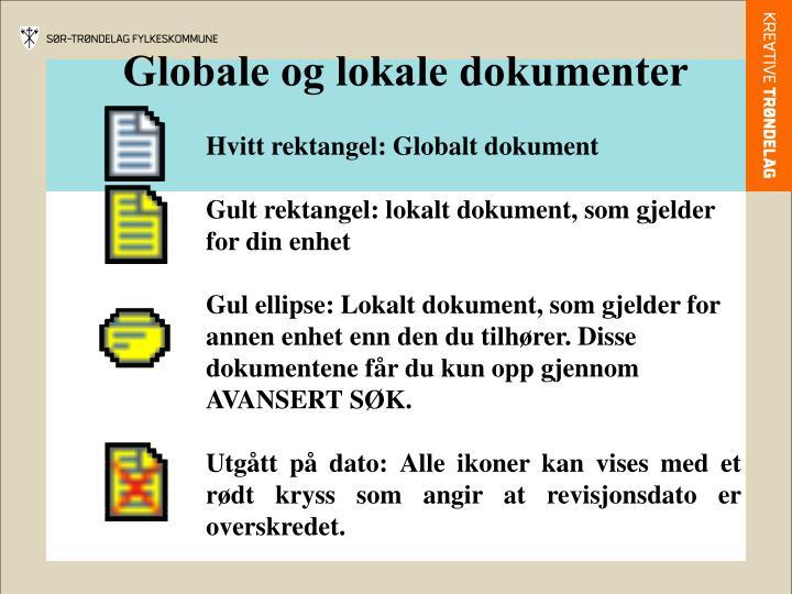 Globale og lokale dokumenter