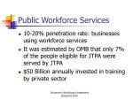 public workforce services
