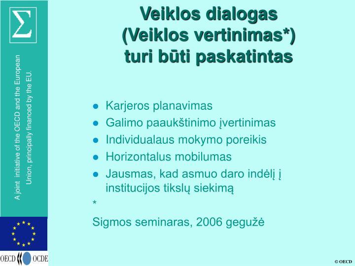 Veiklos dialogas