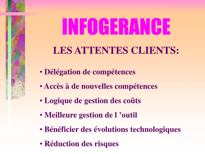INFOGERANCE