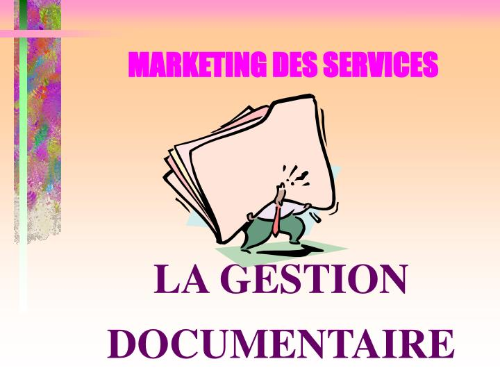 Marketing des services1