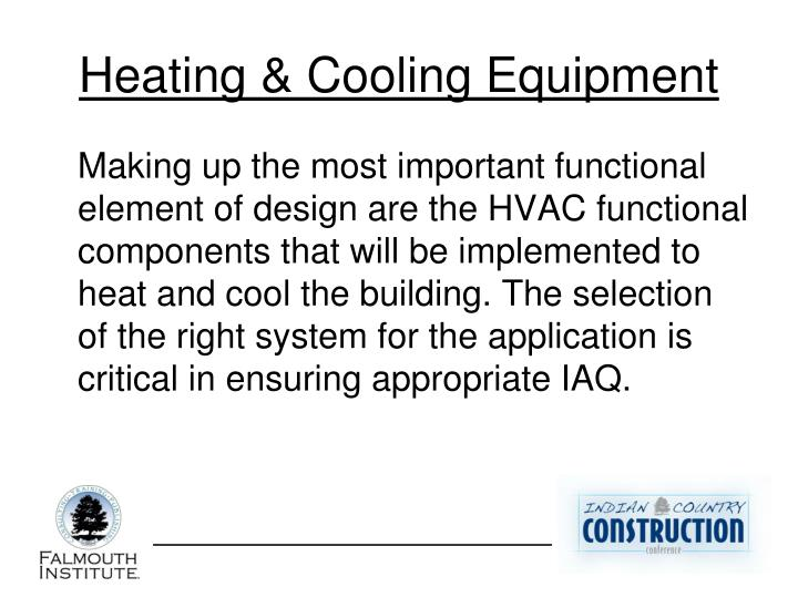Heating & Cooling Equipment