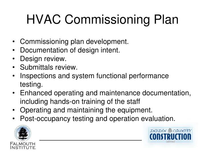 HVAC Commissioning Plan